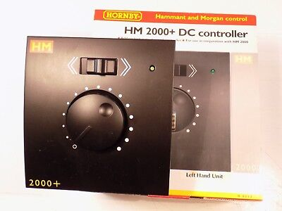 Hornby Hm 2000+ R8013 Left Hand Slave Add On Train Controller, Tested & Boxed