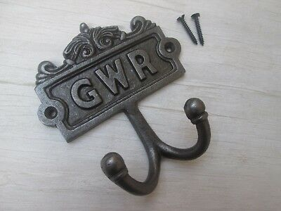 GWR -Ornate decorative fancy railway double bedroom coat hook hanging hook