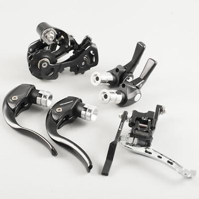 Shimano 105 Groupo, includes Shifters, Brake Levers, Rear & Front Derailleurs