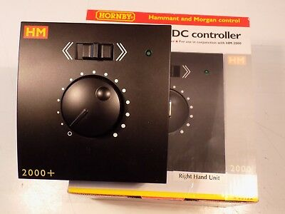 Hornby Hm 2000+ R8013A Right Hand Slave Add On Train Controller, Tested & Boxed