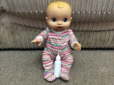 Cute Little Rare Baby Alive 13 Inches,mmoves, Cries, Babbles, Sucks