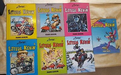 lot,bd, Litteul Kevin, coyote, 7 tomes
