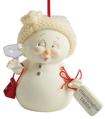 Department 56 Snowpinions — Champagne Taste Hanging Christmas Ornament 4057426
