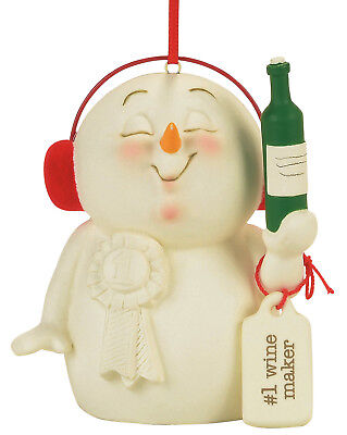 Department 56 Snowpinions — Wine Maker Hanging Christmas Ornament 4057427