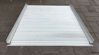 Portable 3' Wheelchair Ramp Roll Up Lightweight Aluminium Mobility Scooter Dogs