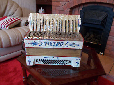 Pietro Accordion, accordian, accordeon, great to learn on, german made.