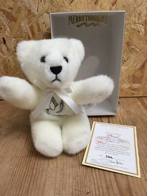 Merrythought Peace Bear - Boxed with Limited Edition Certificate - 9/11 Memorial