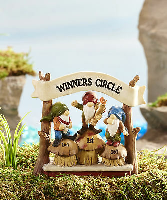 Fairy Garden Mini - Game of Gnomes - Winners Circle Sign
