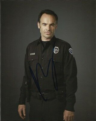 Paul Blackthorne Arrow Autographed Signed 8x10 Photo COA