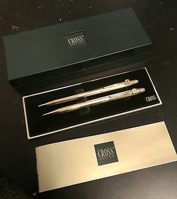 Collectible Vintage John Deere Cross 14kt gold filled pen and pencil set! Gift