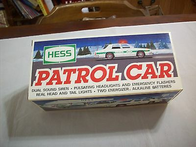 Hess Diecast Toy/Vehicle: Hess 1993 Patrol Car  (New In Box) (470)