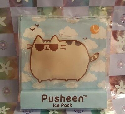 """Pusheen Ice Pack ~ 2017 Summer Box Exclusive~Brand New!! Approx. 4"""" wide/3"""" tall"""