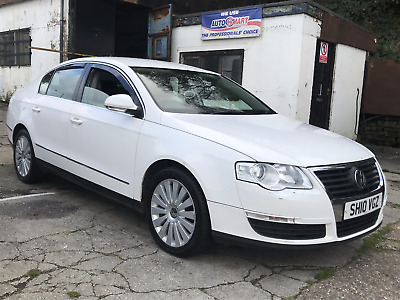 2010 VOLKSWAGEN PASSAT 2.0 TDi CR HIGHLINE FSH MANUAL WHITE