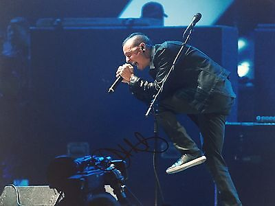 Chester Bennington Personally Signed 16x12 Photo, Linkin Park, Proof Shown, 1