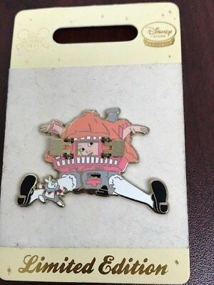 Disney Store Europe -  Alice in White Rabbit's House Pin - LE 350