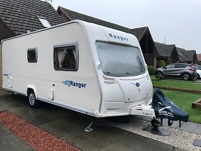 Bailey Ranger 550/6 caravan 2006, with Full Awning, TV plus lots of extras