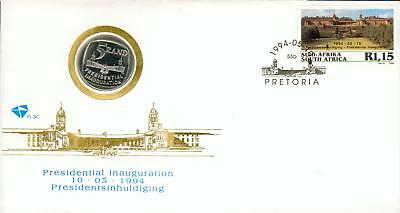 South-Africa Michel Nr. 929 coin cover Numisbrief hs90