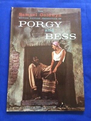 The Samuel Goldwyn Motion Picture Production Of Porgy And Bess Signed By Goldwyn