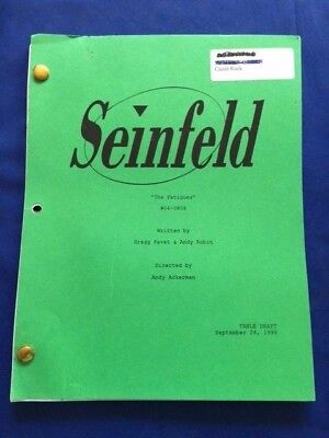 "Seinfeld: ""the Fatigues"" - Table Draft Script"
