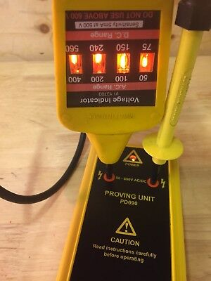 Martindale Proving Unit Pd690 & Martindale Voltage Tester