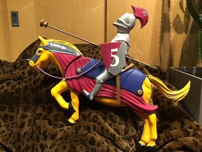 Fairground Knight on Horse