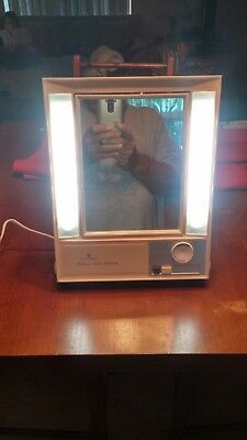 Vintage 70's Clairol True-To-Light Mirror (Make-Up) Collectible Please See Pic's