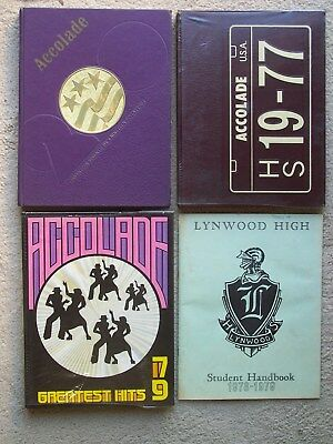 "3! Lynwood High School 1976, 1977 and 1978-1979 Yearbooks, ""WEIRD AL"" YANKOVIC"