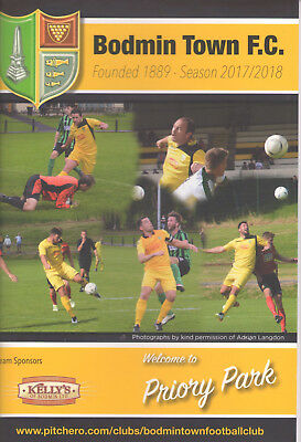 Bodmin Town v Bideford - FA Cup 2nd Qualifying Round - Wed 20-09-17