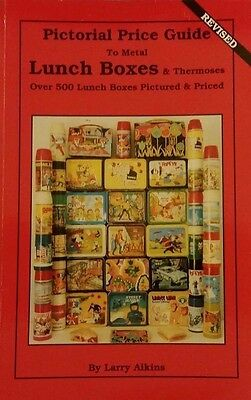 Antique Lunch Box  Value Guide Collector's Guide Book Thermoses 500 Color Photos