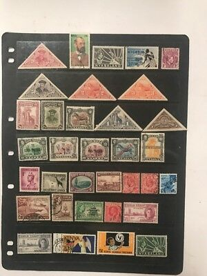 stamps  African Mixture  - MLH and Used - Lot 732