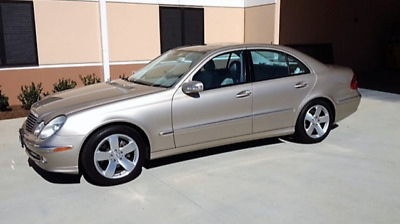 2003 Mercedes-Benz E-Class Sport Pkg. 2003 Mercedes Benz E-500 Sport Sedan