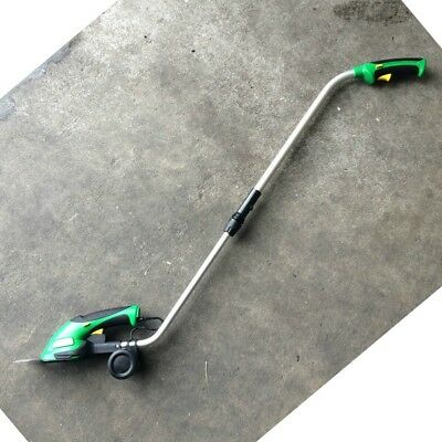 Grass Hedge Trimmer Cordless Shear Cutter Telescopic Handle Lithium-Ion 2 in 1