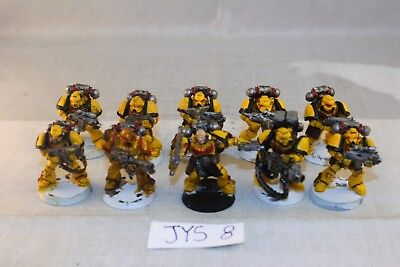 Warhammer Space Marine Imperial Fist Tactical Marines