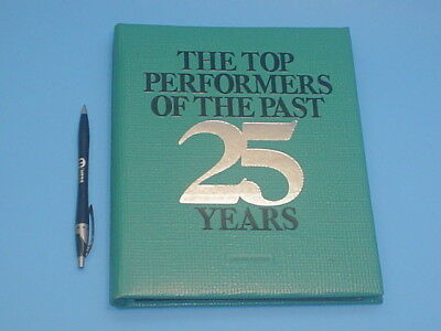 16 Bronze Medals Franklin Mint The Top 25 Performers Of The Past 25 Years