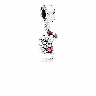 Pandora Disney Piglet Dangle Charm S925 ALE Genuine
