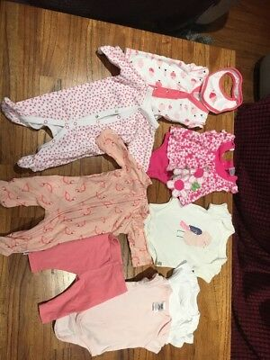 newborn baby clothes Bundle 0000 Girls