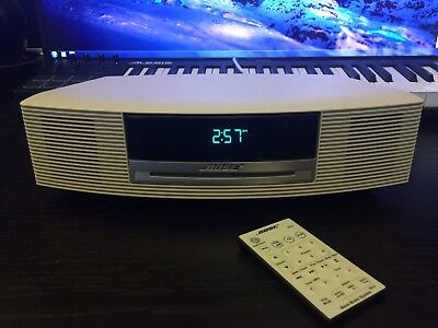 Bose Wave Music System CD Player/AM/FM Tuner - Platinum White