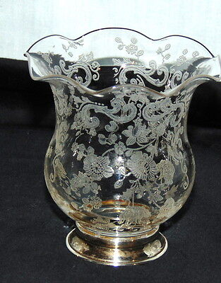 """Cambridge CHANTILLY CRYSTAL*3"""" TOOTHPICK* STERLING BASE*"""
