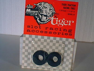 "1/24 Monogram #SR1005 1 1/8"" GOODYEAR slot car rear tires (4) NOS VINTAGE  MO"