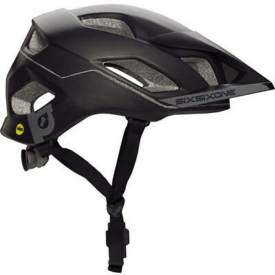 661 Sixsixone Evo Am Mips Helmet Black/gray Xs/s 54-56Cm Mtb Mountain Bike