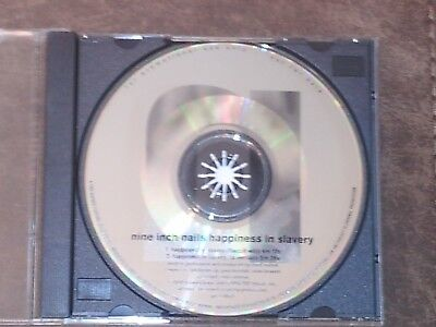 "Nine Inch Nails Super Rare ""Happiness In Slavery"" Promo CD Single"