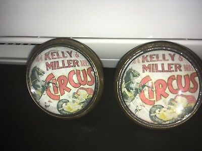 Kelly & Miller Bros Circus - Horse Bridle Rosettes