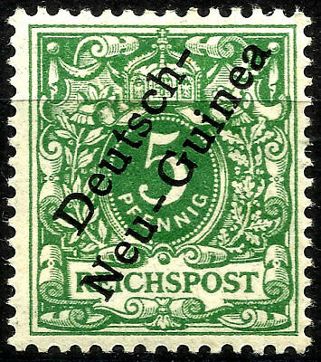 German Offices In New Guinea, Year 1887-99, Michel # 2, Mint Hinged, (Su042)