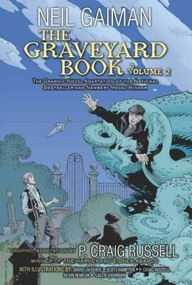 The Graveyard Book Graphic Novel: Volume 2 by Neil Gaiman 9780062194848