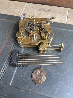 Antique Clock Parts. Estate Items