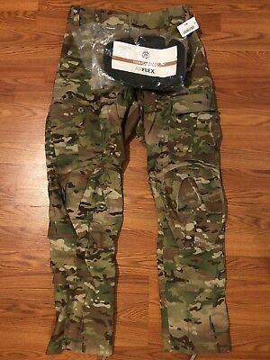 Acp Multicam Sf Issue Army Combat Pants W/ Crye Precision Knee Pads Med Long Nwt