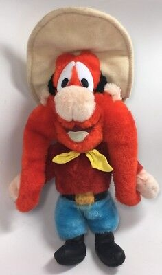 Vintage Looney Tunes YOSEMITE SAM Warner Brothers stuffed plush doll Ace 1995