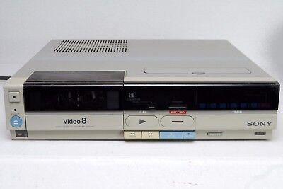Sony Video8 Cassette Recorder 8mm EVO-410 Working Unit
