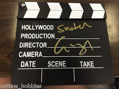 Snatch Guy Ritchie Autographed Signed Hollywood Director Clapper COA