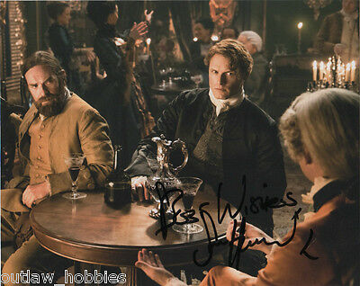 Outlander Sam Heughan Autographed Signed 8x10 Photo COA